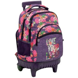 Smiley Wheeled Backpack You 45 CM High-end - 2 cpt - Bag