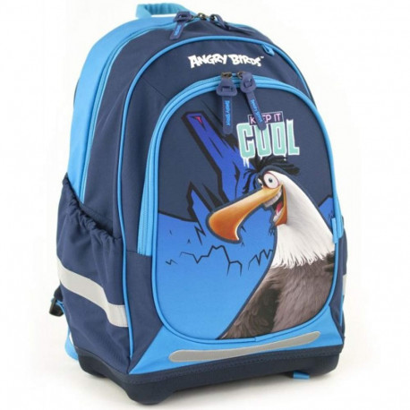 Angry Birds 42 CM black backpack