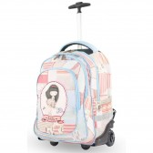 Anekke 45 CM 45 CM wheeled backpack - High-end - Patchwork