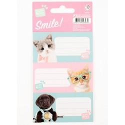 Un sacco di 9 etichette Studio Pets