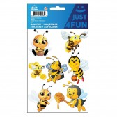 Lot de stickers Abeille