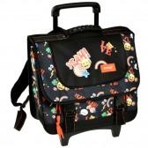 Schwarze Emoji 38 CM Top Of Range Wheeled Bag