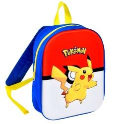 Sac à dos Pikachu 3D 35 CM maternelle - Pokemon