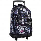 Wheeled backpack M-L Kiss Me 46 CM trolley Top of range - Bag