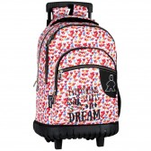 Chewing Gum 46 CM high-end trolley wheeled backpack - Bag