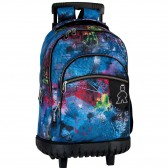 Saturn 46 CM high-end trolley wheeled backpack - Bag