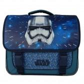 El bolso de alta gama de 38 CM en negro y gris de Star Wars