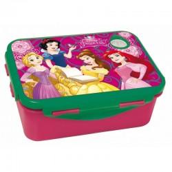 Boite gouter Princesses Disney 17 CM