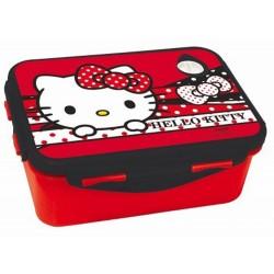 Boite gouter Hello Kitty Red 17 CM