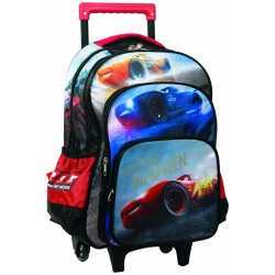 Cars Racing 46 CM HIGH GAMME wheel edail bag - Cartable