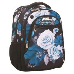 Geen angst blauwe bloemen 45 CM rugzak-2 CPT