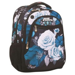 Sac à dos No Fear Blue Flowers 45 CM - 2 Cpt