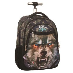 No Fear Wolf Army 48 CM wheel bag - binder