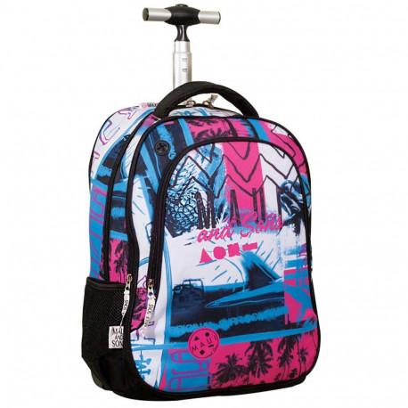 Rolling Backpack Maui & sounds Follow the Sun Surf 48 CM -