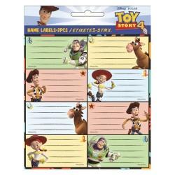 Lot de 16 étiquettes Toy Story 4