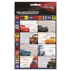 Lot of 8 Cars labels