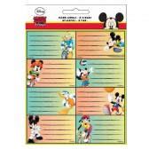 Lote de 16 etiquetas de Mickey Friends