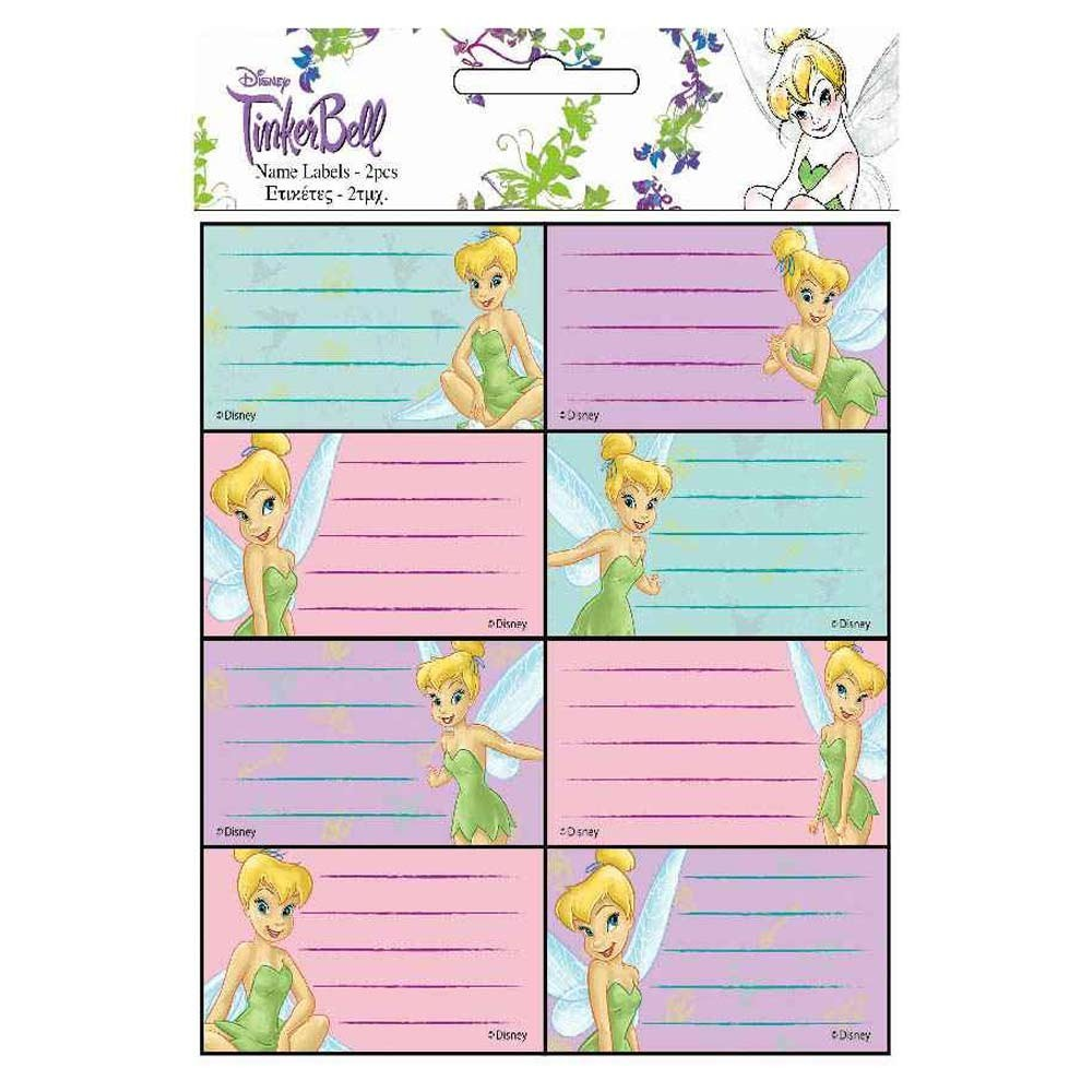 Baby Name Label Pack Fairies