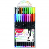 BIC KIDS Färbung Kit 18 Stifte + 12 Marker