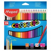 Bolsa de lápiz de colores MAPED Color'Peps 18