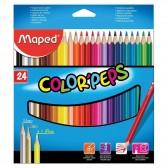 Pochette de 24 crayons de couleur MAPED Color'Peps