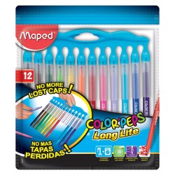 MAPED Color'Peps 12 felt pouch - Long Life Innovation