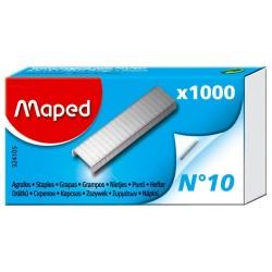 Scatola di 1000 graffette MAPED in formato No.10