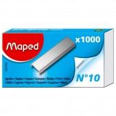 Boîte de 1000 agrafes MAPED format N°10