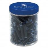 Boîte de 100 cartouches d'encre pour stylo plume - Schneider