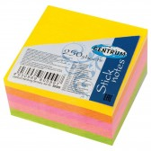 Bloc post-it 250 feuilles - Couleurs néon