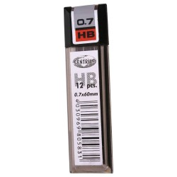 Caja de 12 minas HB 0.7mm