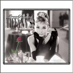 Tapis de souris Audrey Hepburn Tyffanys