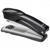 Adaptable desktop stapler for different types of staples.