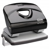 BLACK METALLIC steel stapler