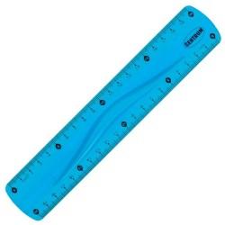 Regla de plástico flexible de color 20 CM