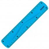Règle en plastique flexible de couleur 20 CM