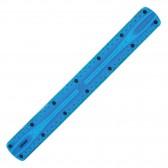 Règle en plastique flexible 30 CM - Bleu