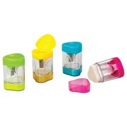 Potloodsnijden met ingebouwde gum