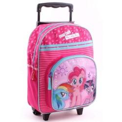 Wheeled backpack Small Pony UnicornE Fuchsia 38 CM - Bag