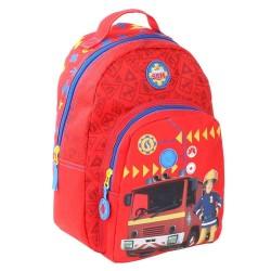 Sam el bombero de jardín de infantes 30 CM mochila - Cartable