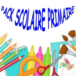 Pack fournitures scolaires Primaire 2019-2020 - Garçon