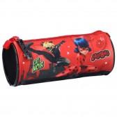 Kit Ladybug wonderbaarlijke en kat zwart 20 CM