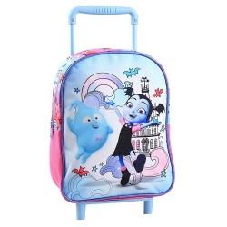 Vampirina 30 CM wheeled backpack - kindergarten
