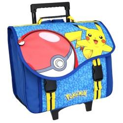 Pokemon Pikachu 41 CM Top Range Wheeled Bag