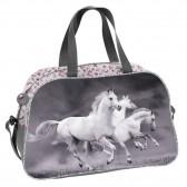 Cavallo di sport borsa fiore 40 CM