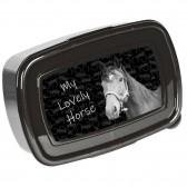 Caja de almuerzo caballo leyenda 18 CM