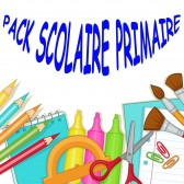 Pack fournitures scolaires Primaire 2019-2020 - Fille