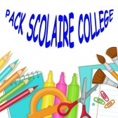 Pack fournitures scolaires Collège 2019-2020