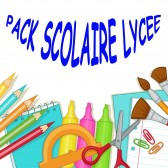 Pack fournitures scolaires Lycée 2019-2020