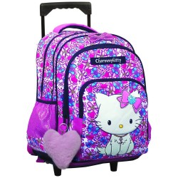 Charmmy Kitty 45 CM wheeled backpack - High-end binder